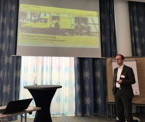 Dr. Jörg Salomon, Vice President StreetScooter Deutsche Post DHL Group