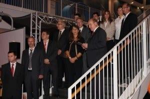 Das GED Team während der Feier zum 25-jährigen Jubiläum im Odysseum Köln