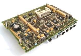 PCI Express-System-Trägerboard für ETX Express CPU-Modul und weitere Systemkarten
