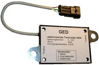 Automotive: Elektronisches Hochstromrelais für 12V- und 24V-Bordnetze
