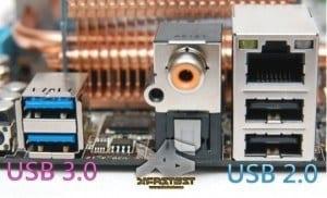 Beispiel: ASUS P6X58 Premium Motherboard mit USB 3.0