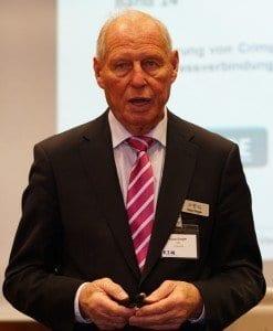 Klaus Dingler, Mitglied des FED-Vorstands, in Bonn, 13. April 2016