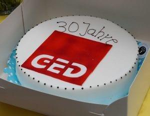 30 Jahre GED Fest Torte