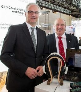 MEDICA 2016 - Minister Duin bei GED
