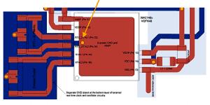 Bild: Application Node von Infineon zum Quarzoszillator-Design mit Mikrocontroller XMC1400